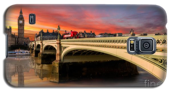 London Sunset Galaxy S5 Case by Adrian Evans