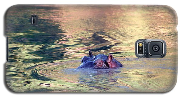 Lonely Hippo Galaxy S5 Case by Sebastian Musial