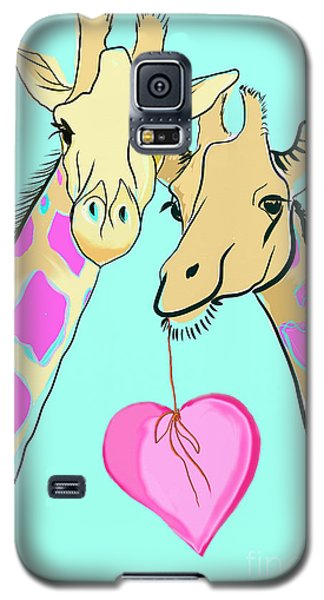 Long Neck Love Galaxy S5 Case by Susie Cunningham