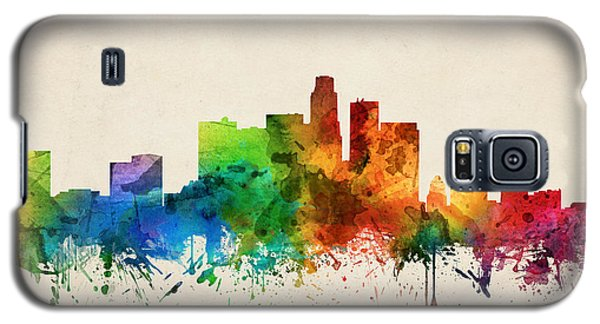 Los Angeles California Skyline 05 Galaxy S5 Case by Aged Pixel