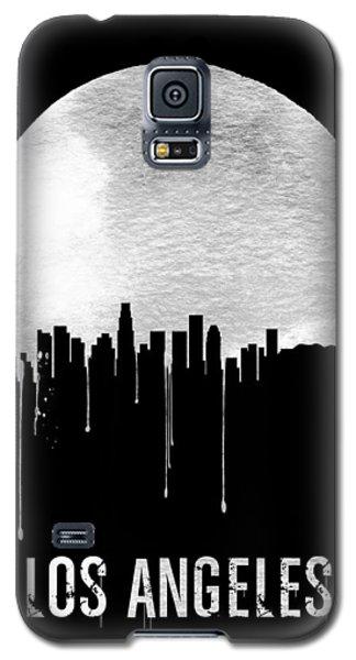 Los Angeles Skyline Black Galaxy S5 Case by Naxart Studio