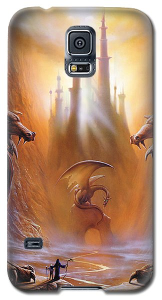 Lost Valley Galaxy S5 Case by The Dragon Chronicles - Garry Wa