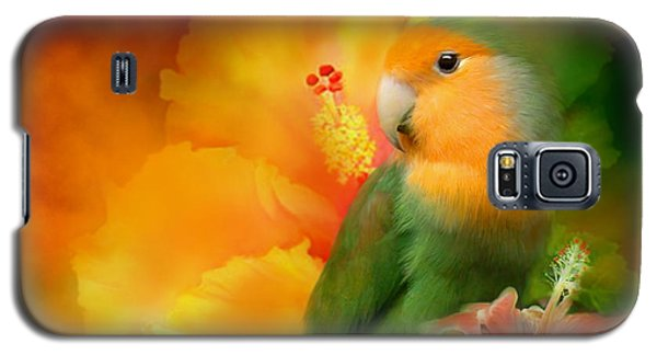Love Among The Hibiscus Galaxy S5 Case by Carol Cavalaris