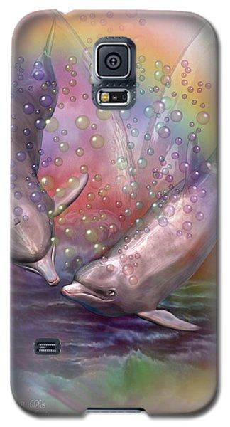 Love Bubbles Galaxy S5 Case by Carol Cavalaris