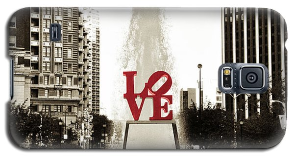 Love In Philadelphia Galaxy S5 Case by Bill Cannon