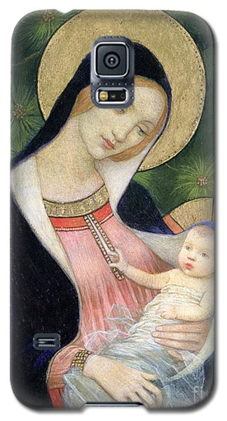 Madonna Of The Fir Tree Galaxy S5 Case by Marianne Stokes