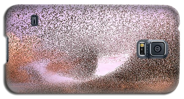 Magic In The Air - Starling Murmurations Galaxy S5 Case by Roeselien Raimond