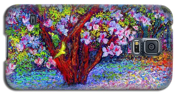 Magnolia Melody Galaxy S5 Case by Jane Small