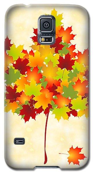 Maple Leaves Galaxy S5 Case by Anastasiya Malakhova