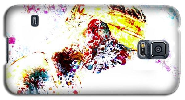 Maria Sharapova Paint Splatter 4p                 Galaxy S5 Case by Brian Reaves