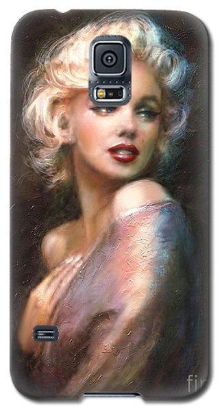 Marilyn Romantic Ww 1 Galaxy S5 Case by Theo Danella