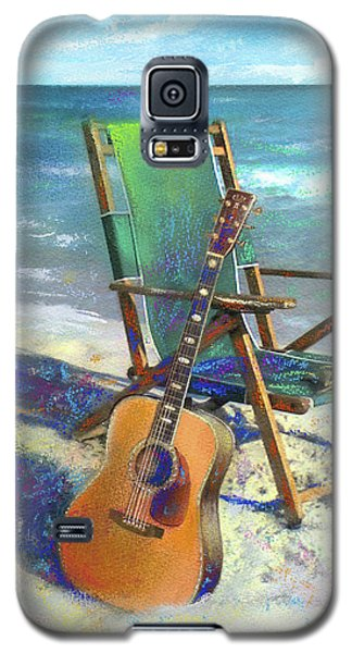 Martin Goes To The Beach Galaxy S5 Case by Andrew King