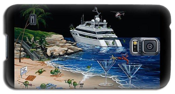 Martini Cove La Jolla Galaxy S5 Case by Michael Godard