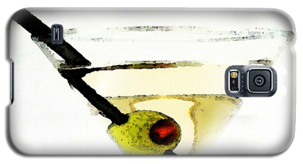 Martini With Green Olive Galaxy S5 Case by Sharon Cummings