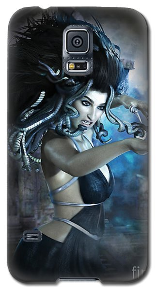 Medusa Galaxy S5 Case by Shanina Conway