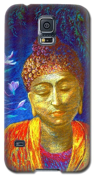 Impressionism Galaxy S5 Cases - Meeting with Buddha Galaxy S5 Case by Jane Small