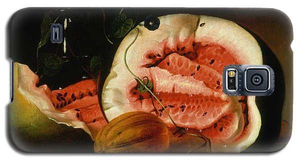 Melons And Morning Glories  Galaxy S5 Case by Raphaelle Peale