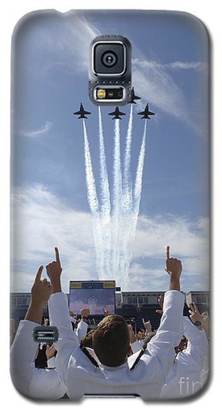 Members Of The U.s. Naval Academy Cheer Galaxy S5 Case by Stocktrek Images