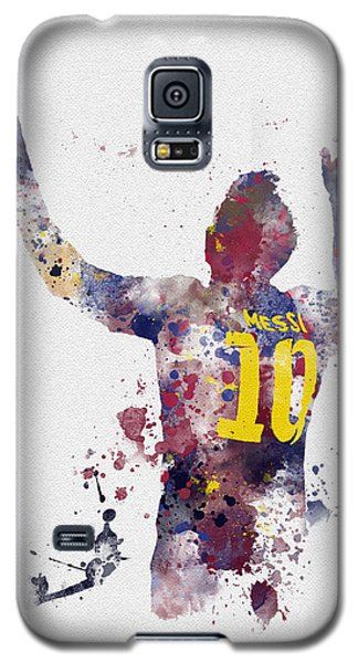 Messi Galaxy S5 Case by Rebecca Jenkins