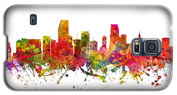 Miami Cityscape 08 Galaxy S5 Case by Aged Pixel