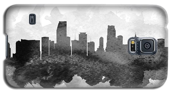 Miami Cityscape 11 Galaxy S5 Case by Aged Pixel