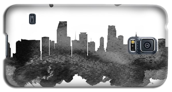 Miami Florida Skyline 18 Galaxy S5 Case by Aged Pixel