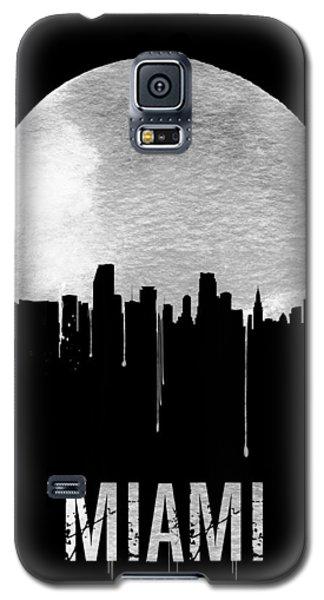 Miami Skyline Black Galaxy S5 Case by Naxart Studio