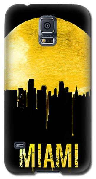 Miami Skyline Yellow Galaxy S5 Case by Naxart Studio