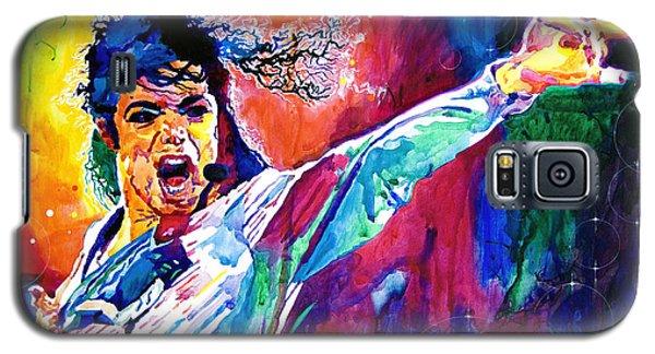 Michael Jackson Force Galaxy S5 Case by David Lloyd Glover
