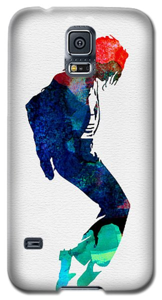 Michael Watercolor Galaxy S5 Case by Naxart Studio