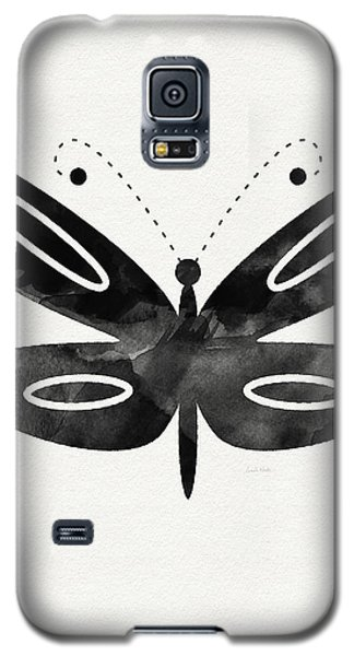 Midnight Butterfly 1- Art By Linda Woods Galaxy S5 Case by Linda Woods
