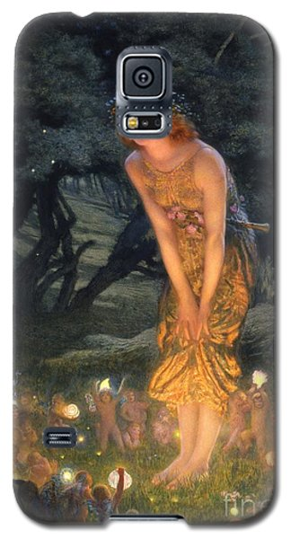 Midsummer Eve Galaxy S5 Case by Edward Robert Hughes