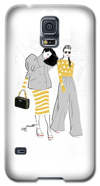 Milano Moment Galaxy S5 Case by Nadia La Moretti