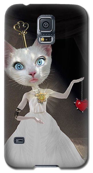 Miss Kitty Galaxy S5 Case by Juli Scalzi