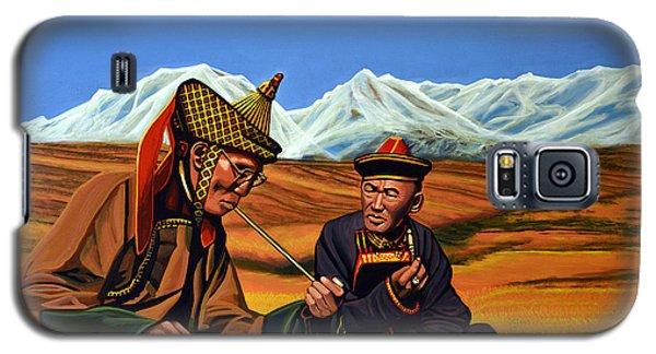 Galaxy S5 Cases - Mongolia Land of the Eternal Blue Sky Galaxy S5 Case by Paul Meijering