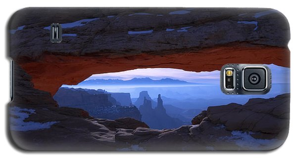 Popular Galaxy S5 Cases - Moonlit Mesa Galaxy S5 Case by Chad Dutson