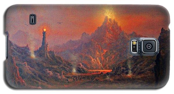 Mordor Land Of Shadow Galaxy S5 Case by Joe Gilronan