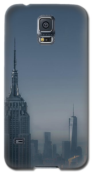 Architecture Galaxy S5 Cases - Morning in New York Galaxy S5 Case by Chris Fletcher