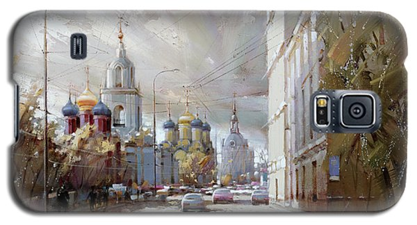 Moscow. Varvarka Street. Galaxy S5 Case by Ramil Gappasov