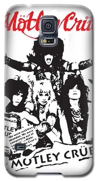 Motley Crue No.01 Galaxy S5 Case by Caio Caldas