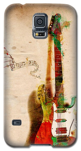 Music Galaxy S5 Cases - My Guitar Can SING Galaxy S5 Case by Nikki Smith