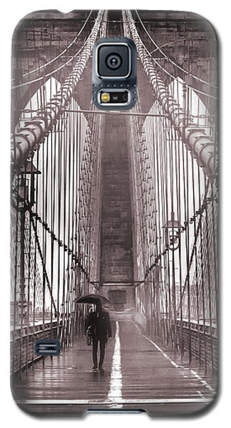 Mystery Man Of Brooklyn Galaxy S5 Case by Az Jackson