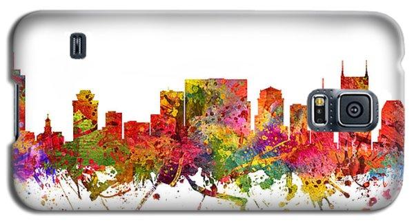 Nashville Cityscape 08 Galaxy S5 Case by Aged Pixel