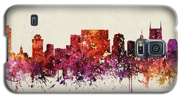Nashville Cityscape 09 Galaxy S5 Case by Aged Pixel