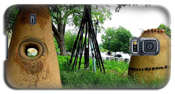 National Museum Of The American Indian 5 Galaxy S5 Case by Randall Weidner
