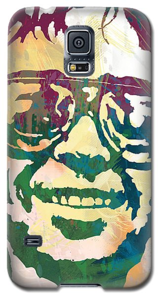 Neil Young Pop Stylised Art Poster Galaxy S5 Case by Kim Wang