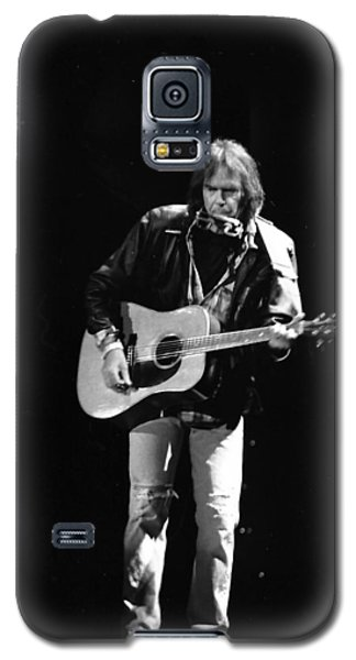 Neil Young Galaxy S5 Case by Wayne Doyle