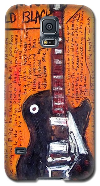 Neil Young's Old Black Galaxy S5 Case by Karl Haglund