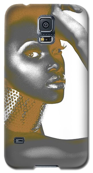 Pyrography Galaxy S5 Cases - Nesha Galaxy S5 Case by Naxart Studio