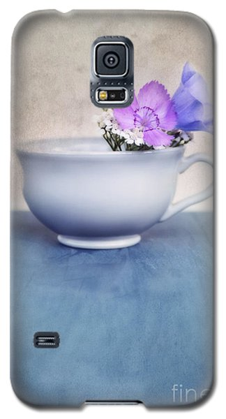 Still Life Galaxy S5 Cases - New Life For An Old Coffee Cup Galaxy S5 Case by Priska Wettstein